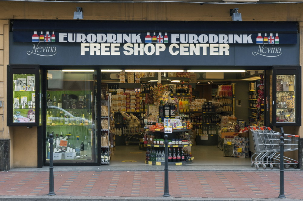EURODRINK-FREE SHOP CENTER