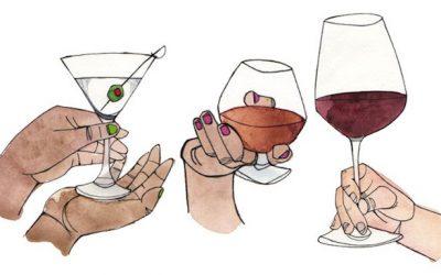 Come si tiene un bicchiere ?