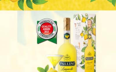 PALLINI : Il limoncello di Amalfi