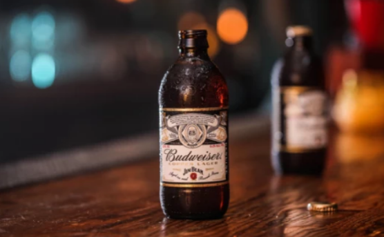 Are you ready to drink Budweiser beer aged with Jim Beam